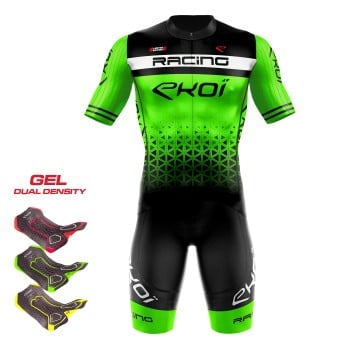 COMPLETO 3D GEL EKOI LTD RACING VERDE fluo