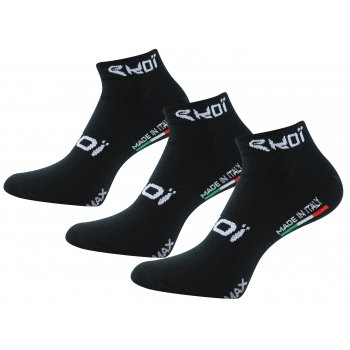 PACK 3 SOCKS EKOI COOLMAX 2015 BLACK