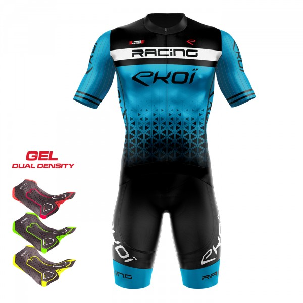 Set 3D GEL EKOI LTD RACING Blau