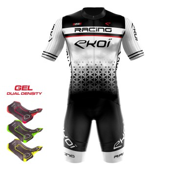 MAILLOT EKOI RACING LTD BLANC