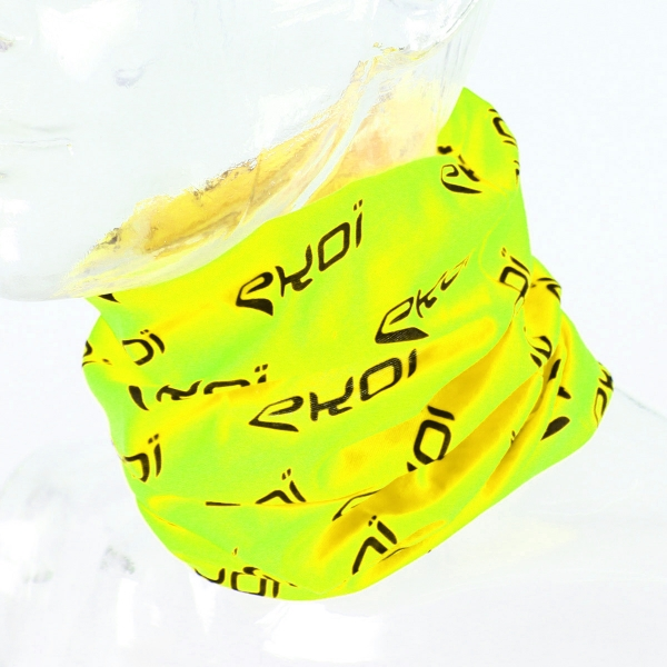 BANDANA /NECK WARMER EKOI NEON YELLOW