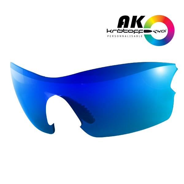 Solbrillelinser AK REVO BLÅ