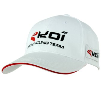 PODIUM CAP EKOI WHITE/RED