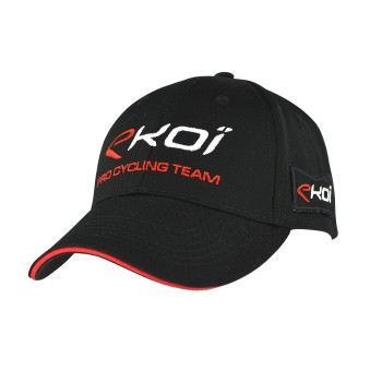 PODIUM EKOI CAP  2016 BLACK/RED