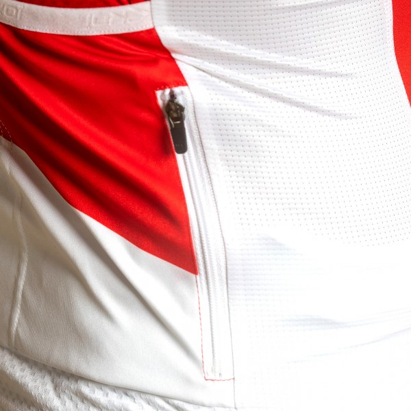 Maillot été EKOI COMP21 Blanc Rouge