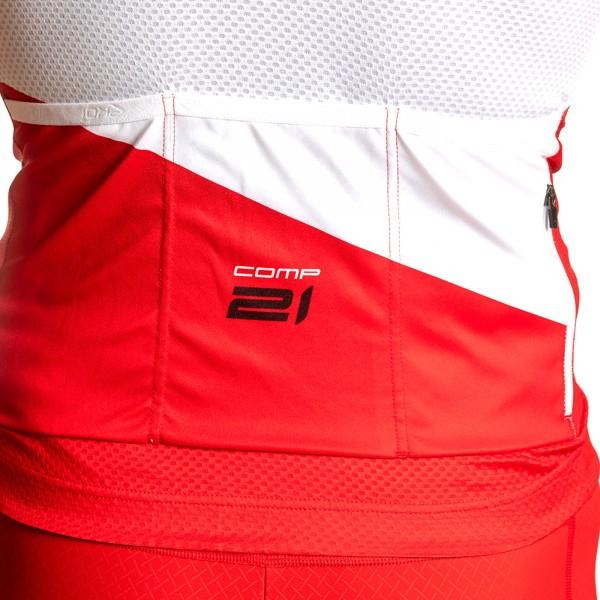 Maillot été EKOI COMP21 Rouge Blanc