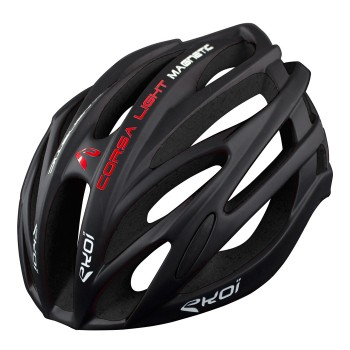 HELMET EKOI CORSA LIGHT Full Black