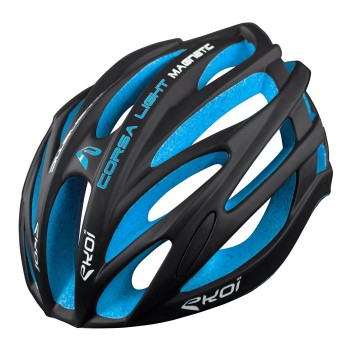 HELMET EKOI CORSA LIGHT BLACK/BLUE