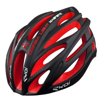 HELMET EKOI CORSA LIGHT BLACK/RED