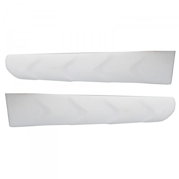 2-er Pack Bügelenden PERSOEVO Weiß