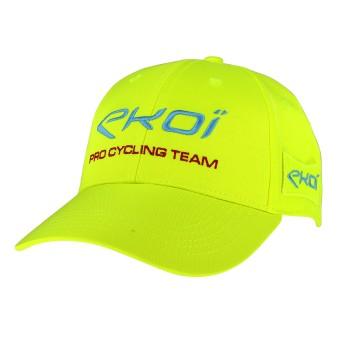 Żółta fluo czapeczka z daszkiem PODIUM EKOI