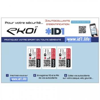 Kit ID1 LIFE 3 adesivi