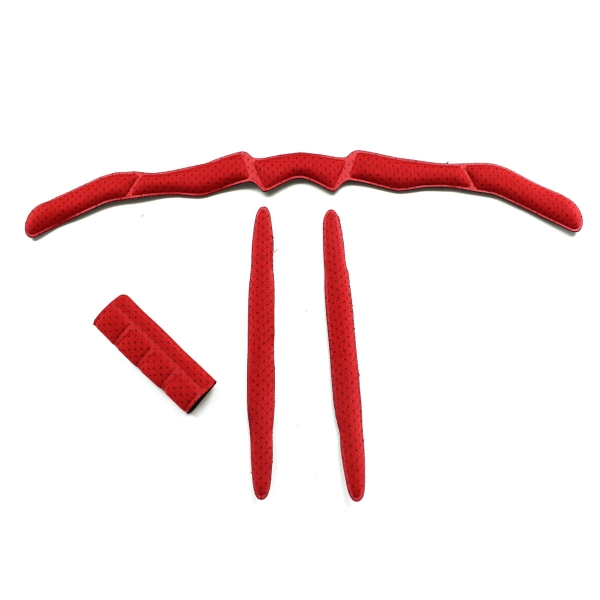 Replacement red (medium) foam padding for the EKOI CORSA LIGHT or CORSA EVO helmets