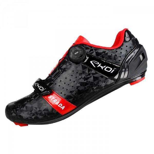 Chaussures route EKOI Strada Evo Noir