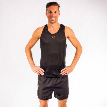 Débardeur athlétisme EKOI RUN Noir