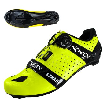 EKOI Strada Cristal Yellow fluo road shoes