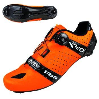cykelsko EKOI Strada Cristal neon orange