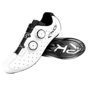 EKOI R4 White road cycling shoes