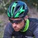 Casco EKOI AR13 Nero opaco Verde fluo