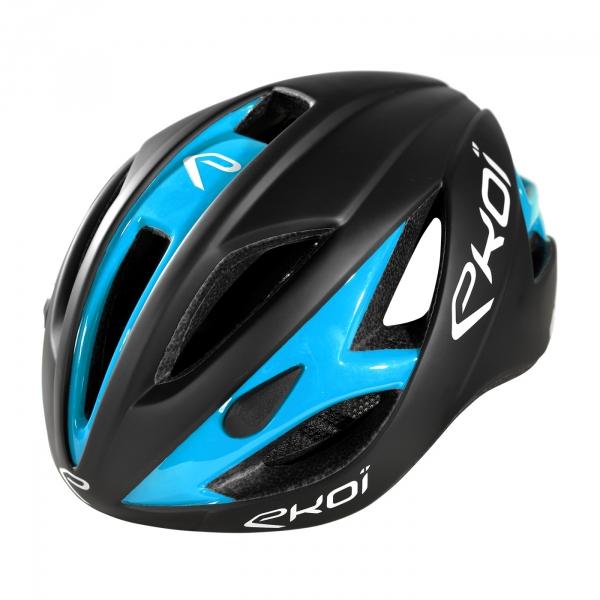 Helm EKOI AR13 Schwarz Matt Blau