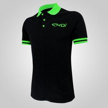EKOI Club Polo musta/vihreä