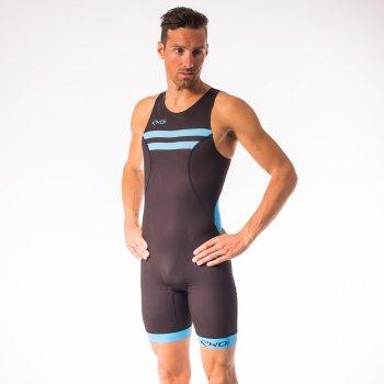 Combinaison triathlon EKOI Courte Distance Noir Blanc