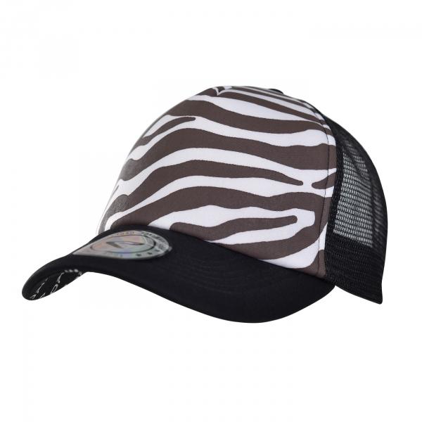 Czapka z daszkiem EKOI Zebra