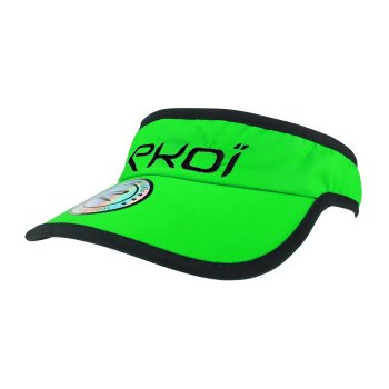 EKOI RUN Green fluo running visor