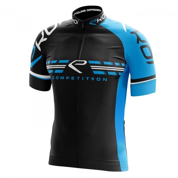 Fietsshirt EKOI COMP11 Zwart Blauw