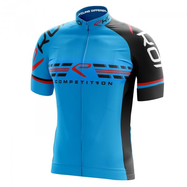 Fietsshirt EKOI COMP11 Blauw Zwart