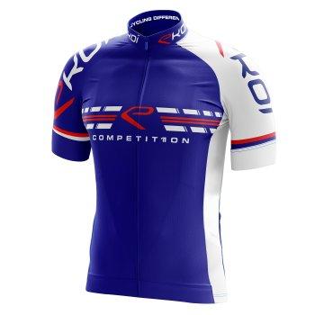 trøje EKOI COMP11 fransk-Blå