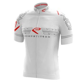 trøje EKOI COMP11 Full White