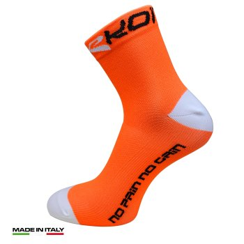 Chaussettes EKOI RUN Confort Orange