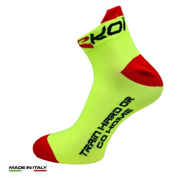 EKOI RUN Perf Yellow running socks