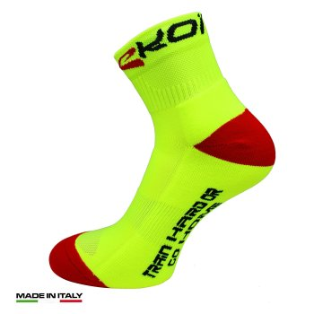 EKOI RUN Comp Yellow running socks