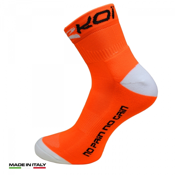 strømper EKOI RUN Comp Orange