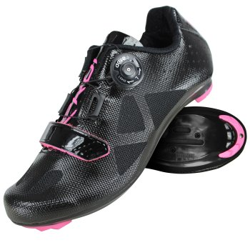EKOI LADY Just For Her Black cycling shoes