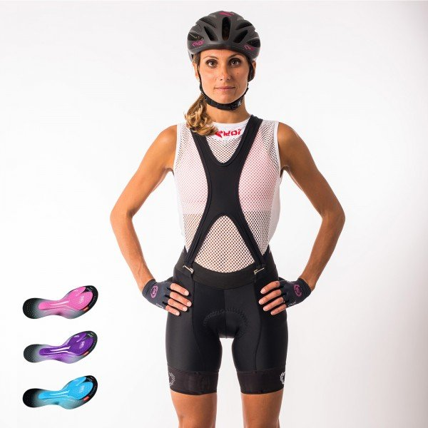 Culotte bike corto EKOI LADY Pro Gel Memory
