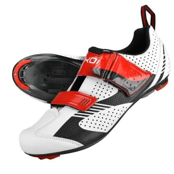 Chaussures Triathlon EKOI TRI ONE Evo Blanc