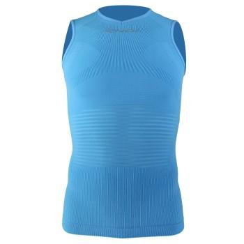 Top EKOI Pro Linea sans manches Bleu turquoise