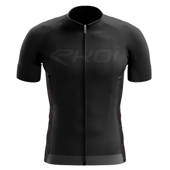 EKOI Perforato Black short sleeve jersey