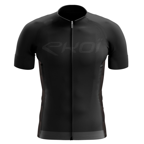 EKOI Perforato Black short sleeve jersey