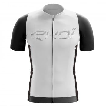 EKOI Perforato White short sleeve jersey