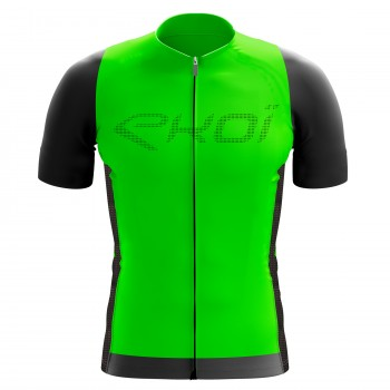 EKOI Perforato Green fluo short sleeve jersey