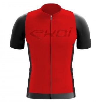 Koszulka EKOI Perforato Czerwona