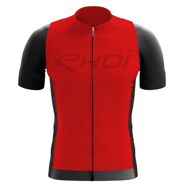 Shirt EKOI Perforato Rood