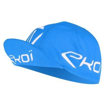 Casquette vélo EKOI Route Bleu