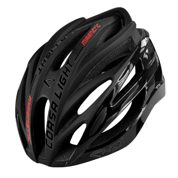 EKOI CORSA LIGHT black helmet