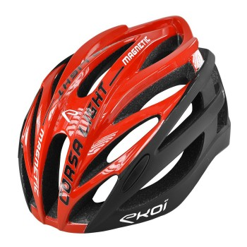 EKOI CORSA LIGHT red / black helmet