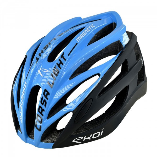 EKOI CORSA LIGHT blue / black helmet